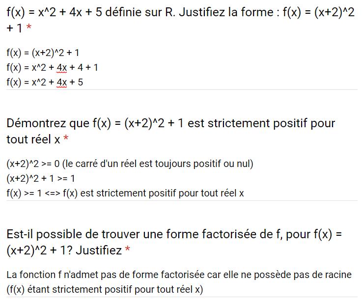 Mathématiques – DEVOIR FINAL 2nd degré – 07/08/2019 10:00 Corrig33