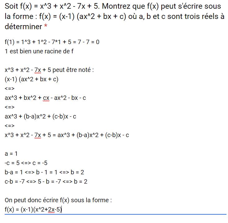 Mathématiques – DEVOIR FINAL 2nd degré – 07/08/2019 10:00 Corrig34