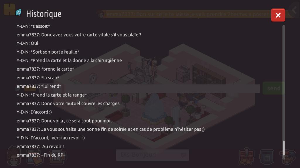[CHU] Rapports d'action RP de emma7837 6b064d10