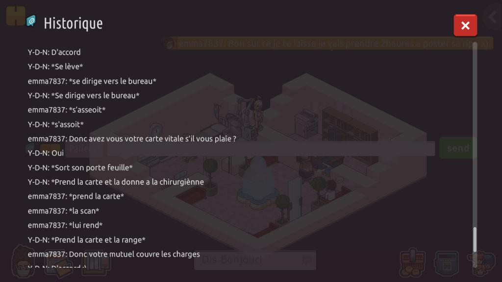 [CHU] Rapports d'action RP de emma7837 71a96d10