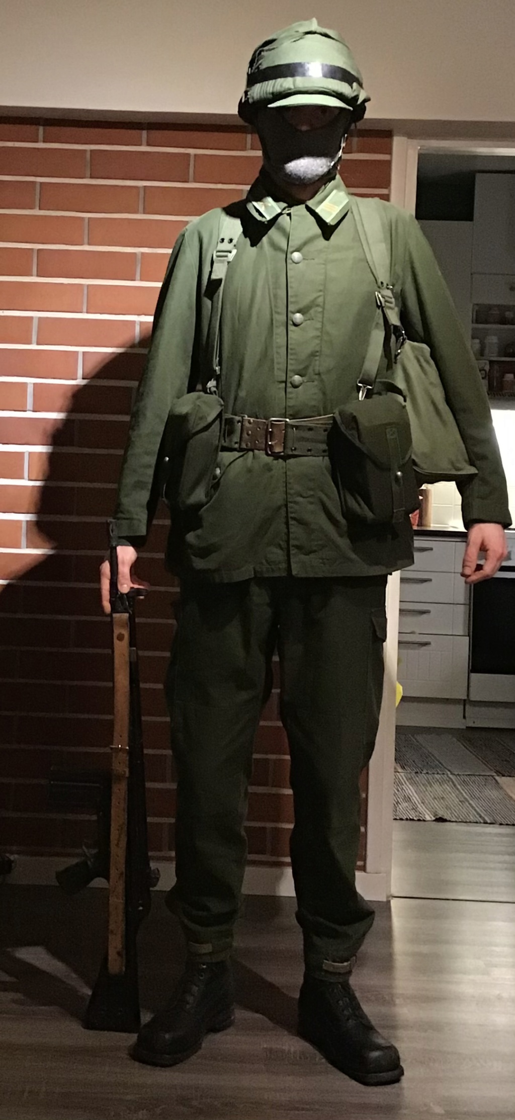 Swedish infantry soldier mid 1980s A737b610