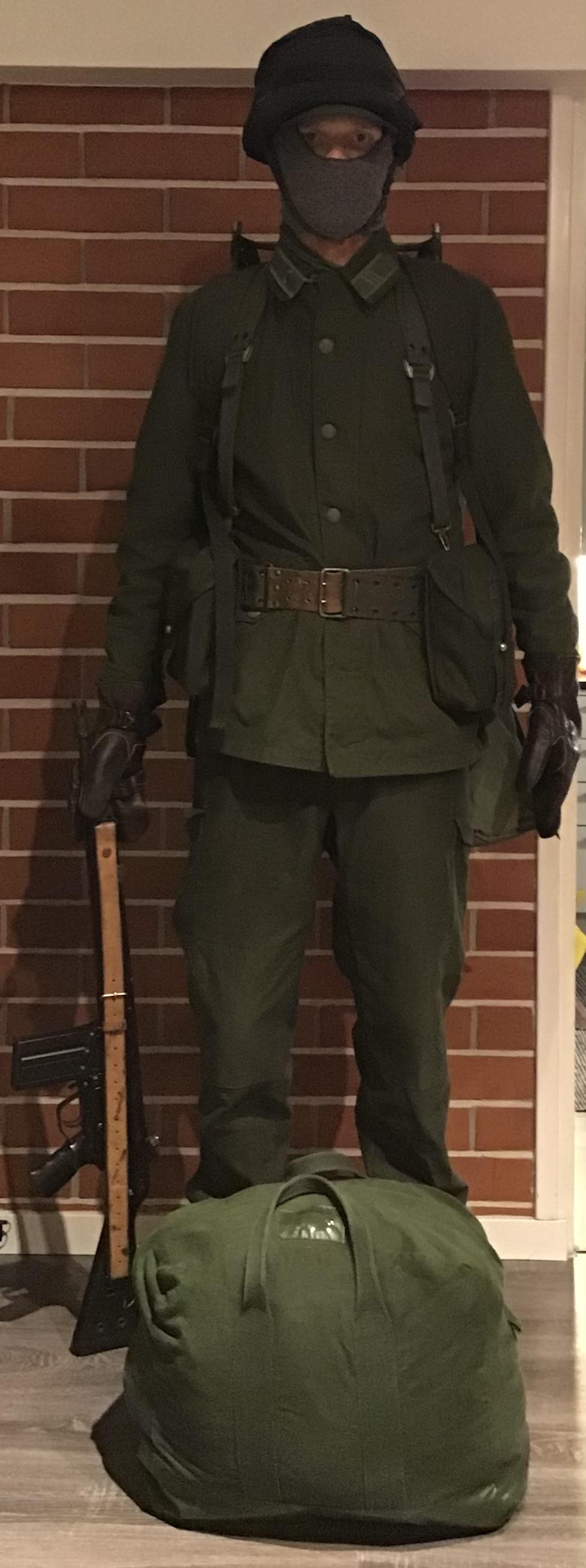 Swedish infantry soldier mid 1980s Cbb41c10