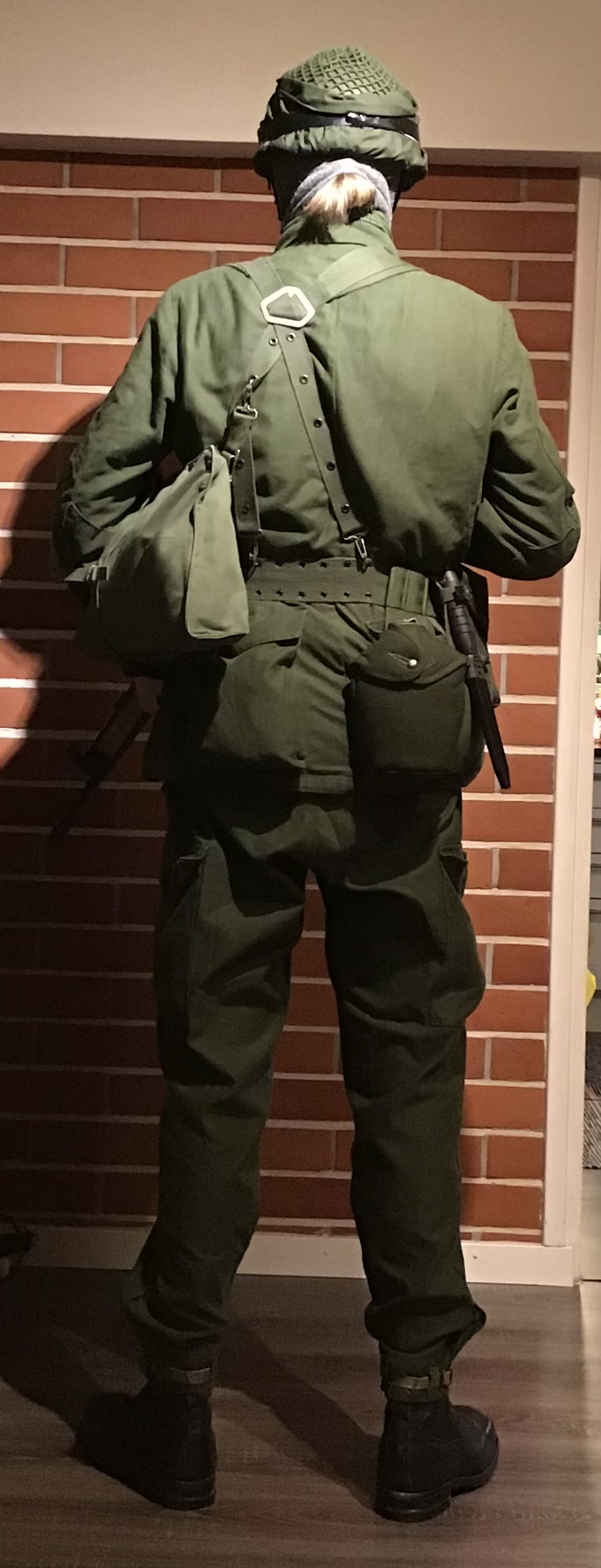 Swedish infantry soldier mid 1980s Ffe76810