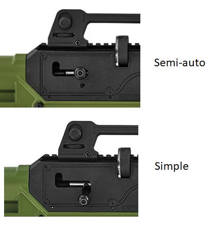 Carabine semi auto HATSAN INVADER Comp10