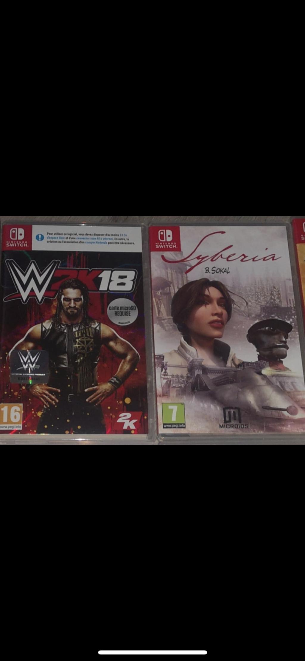 JE REÇOIS, JE DONNE: okami,samourai shodown switch/wonderboy PS4/tatsunoko wii/shovel knight 3DS - Page 20 28c44a10