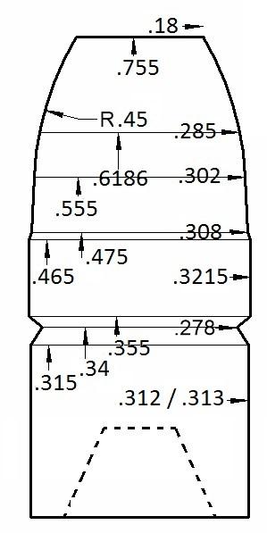 Cuivrage des projectiles coulés  016a8410