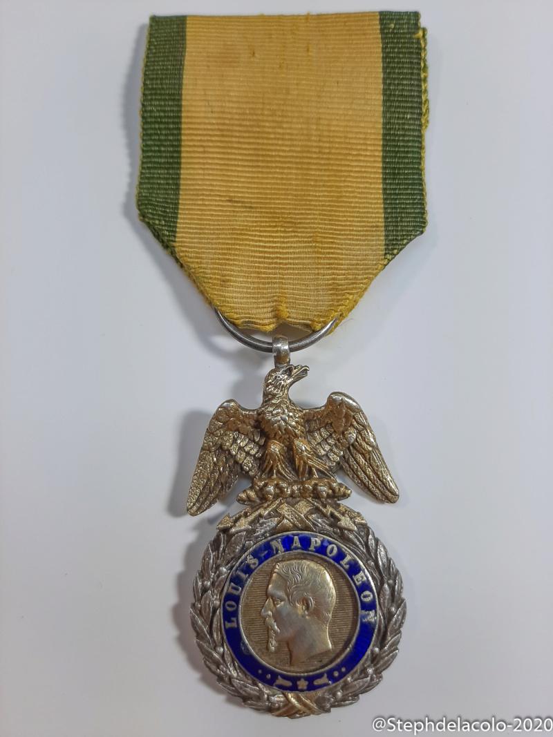 Mes médailles du Second Empire à la 3ème République. 20201026