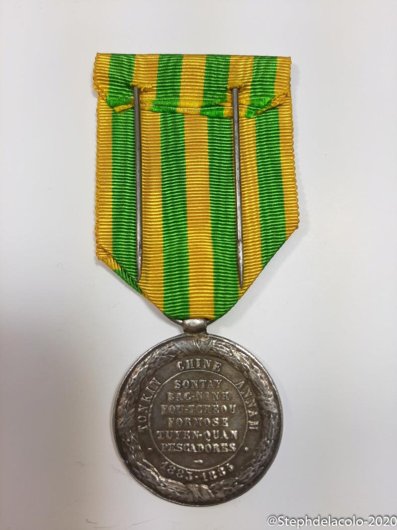 Mes médailles du Second Empire à la 3ème République. 20201027