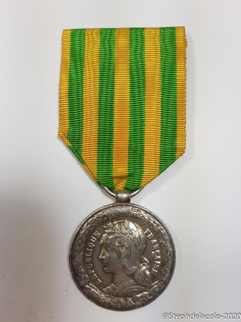 Mes médailles du Second Empire à la 3ème République. 20201028