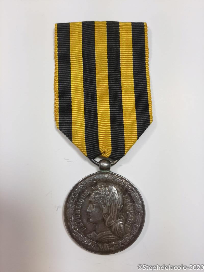 Mes médailles du Second Empire à la 3ème République. 20201031