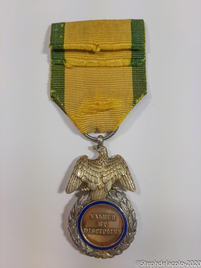 Mes médailles du Second Empire à la 3ème République. 20201033