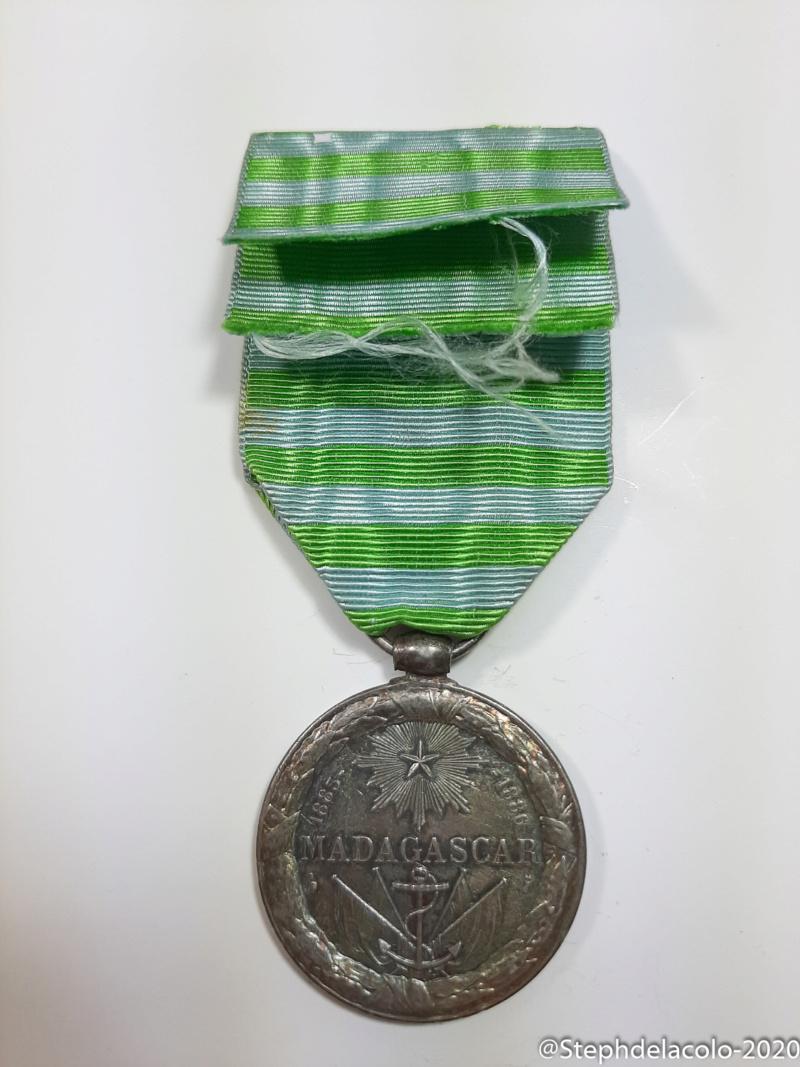 Mes médailles du Second Empire à la 3ème République. 20201034