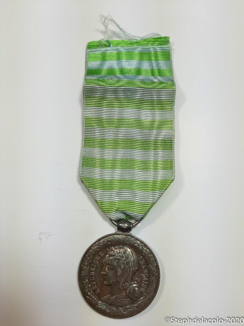 Mes médailles du Second Empire à la 3ème République. 20201035