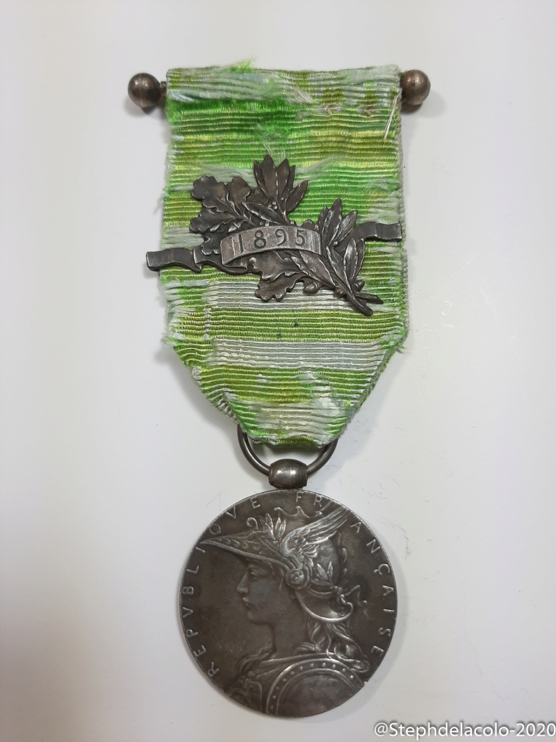 Mes médailles du Second Empire à la 3ème République. 20201036