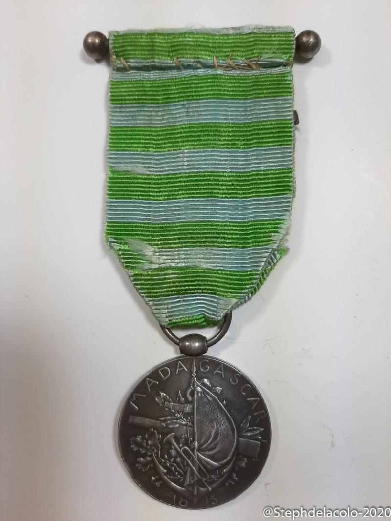 Mes médailles du Second Empire à la 3ème République. 20201037