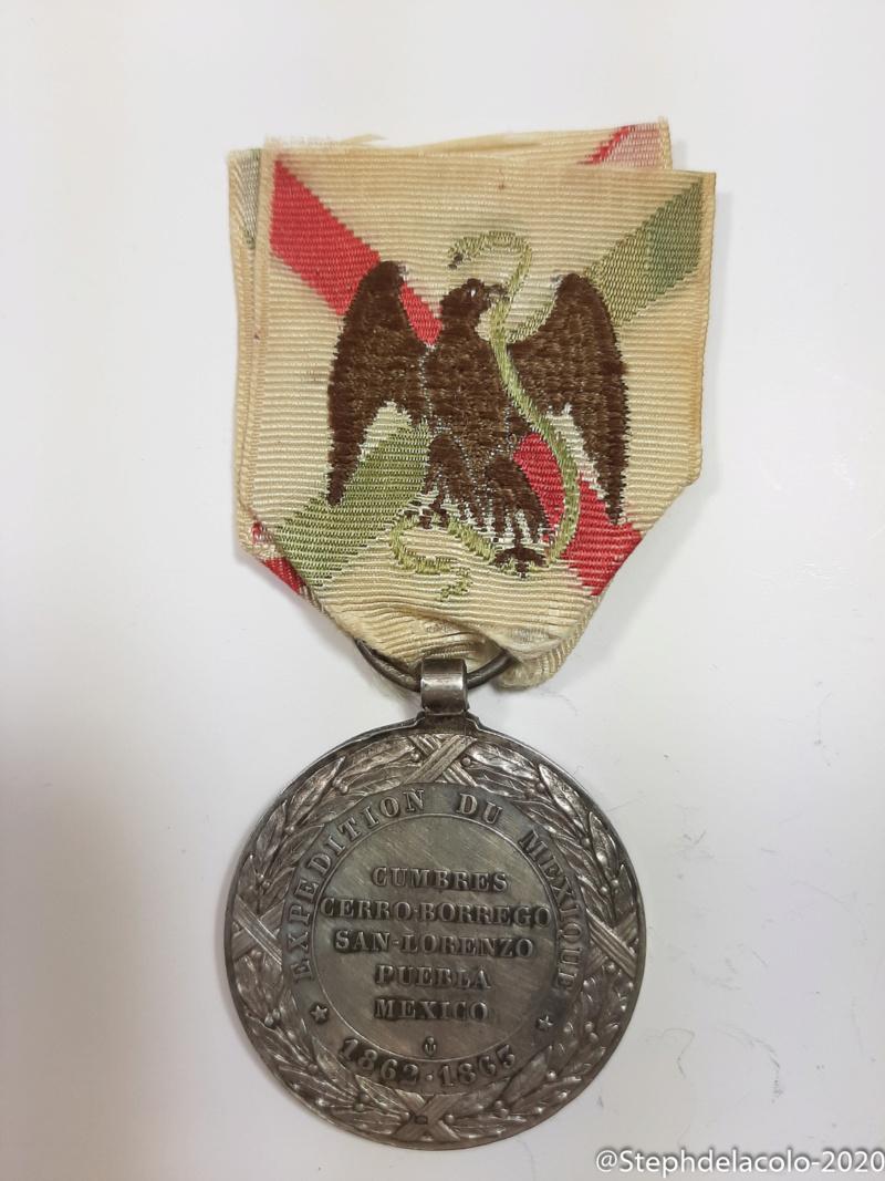 Mes médailles du Second Empire à la 3ème République. 20201041