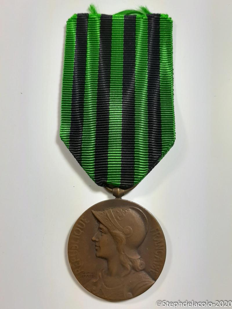 Mes médailles du Second Empire à la 3ème République. 20201042