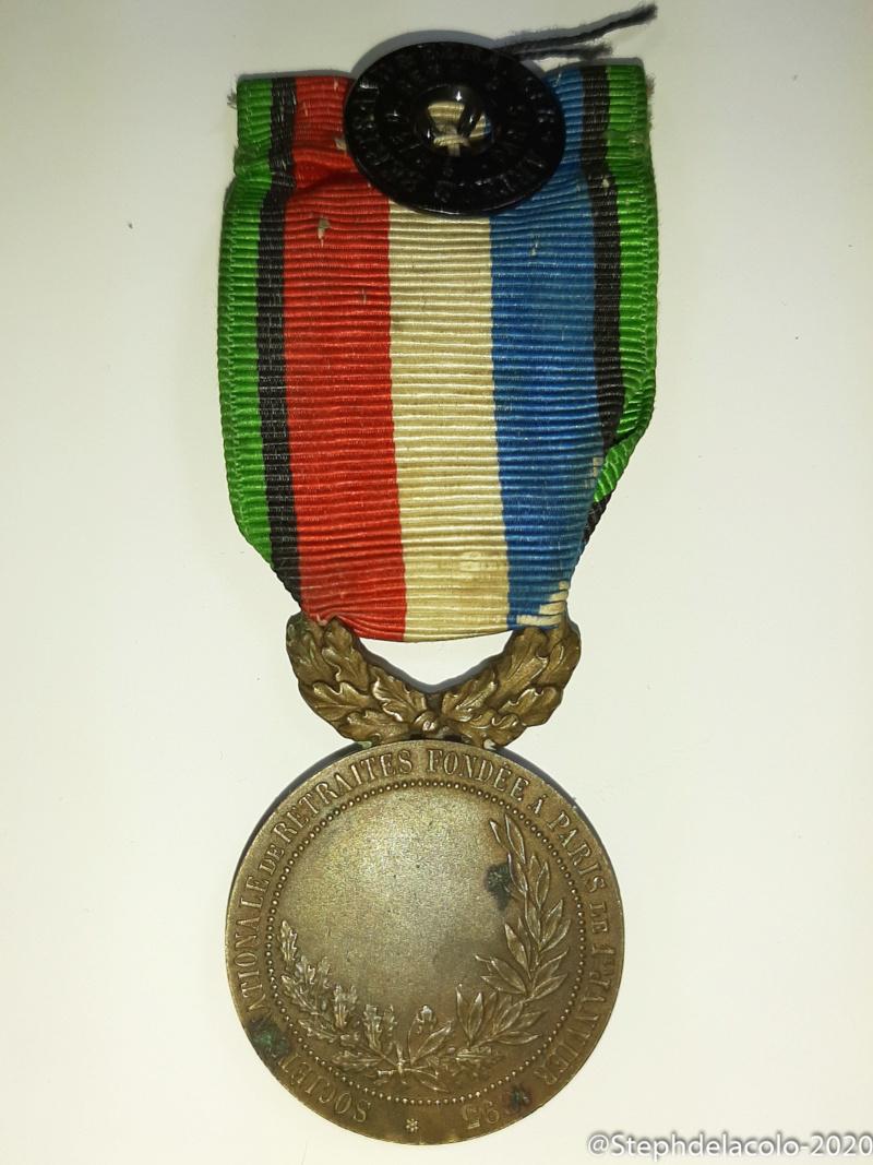 Mes médailles du Second Empire à la 3ème République. 20201046