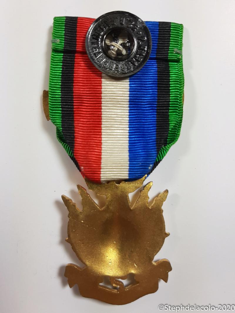 Mes médailles du Second Empire à la 3ème République. 20201049