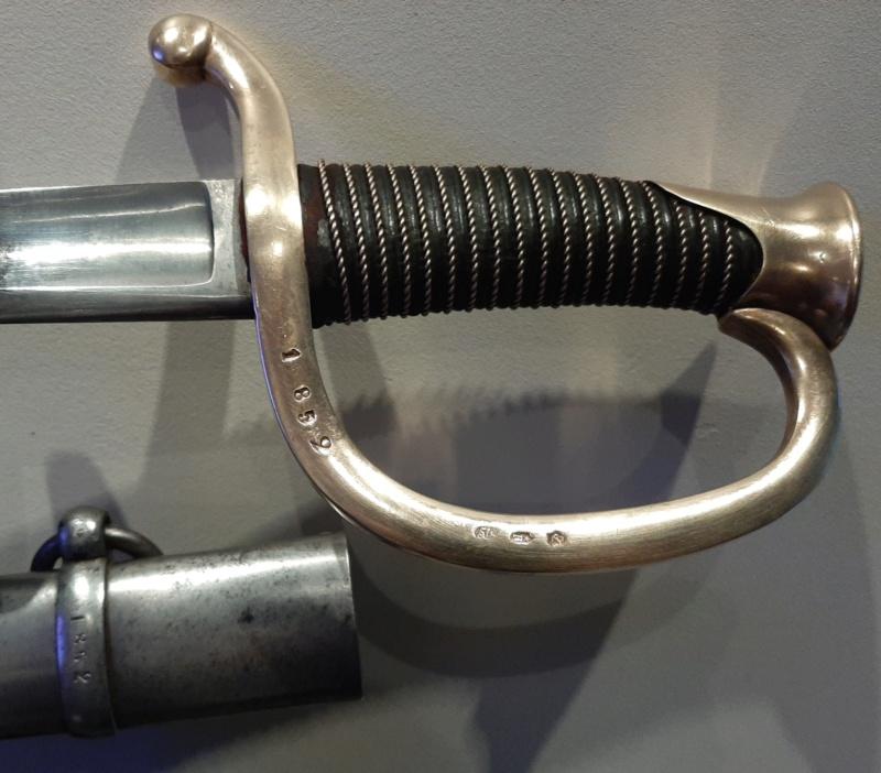 Sabre de canonnier monté modèle 1829 20201111