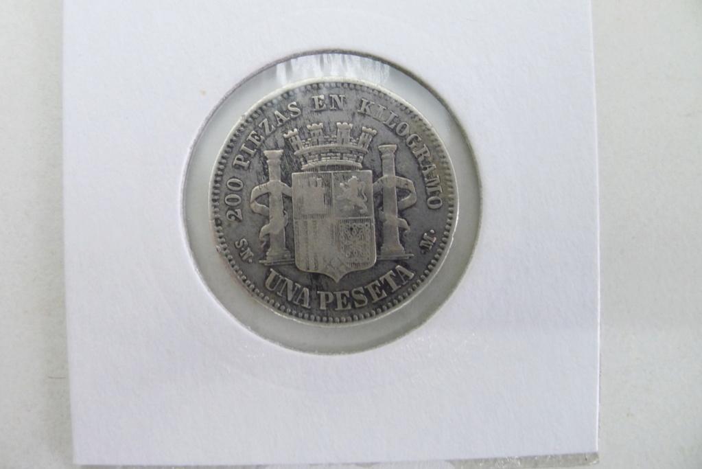 1 peseta 1869 España. Gobierno Provisional. Dudas autenticidad P1310411