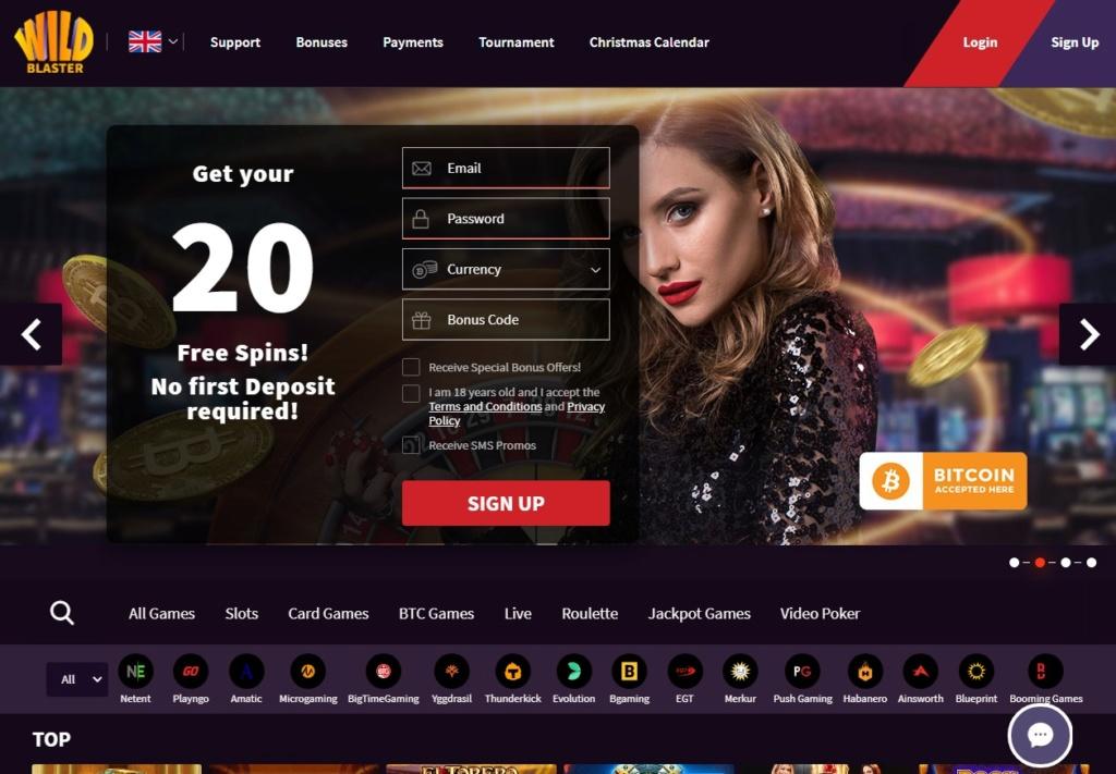 Bitcoin Casino - Wildblaster Wildbl10