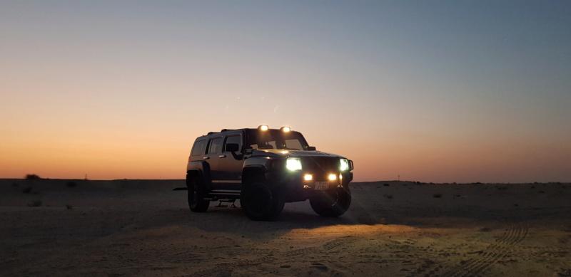 Hummer H3 au Koweït 20190810