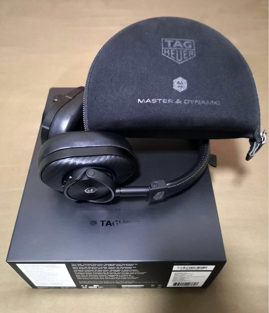 Master & Dynamic Wireless BT Headphone Tag Heuer Edition Img20211