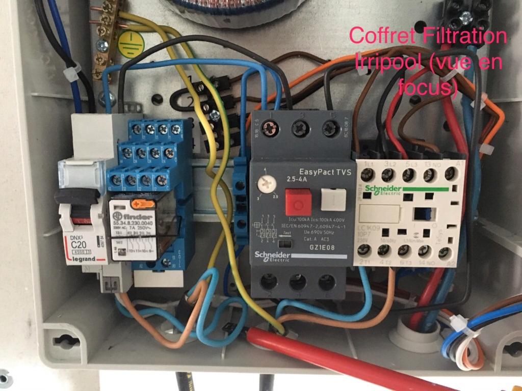 Branchement Filtration PAC et AQUARITE PRO Img_2814