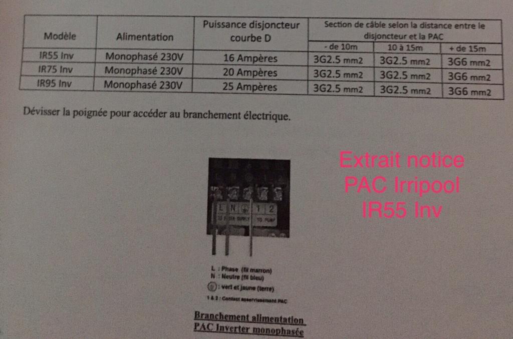 Branchement Filtration PAC et AQUARITE PRO Img_2816