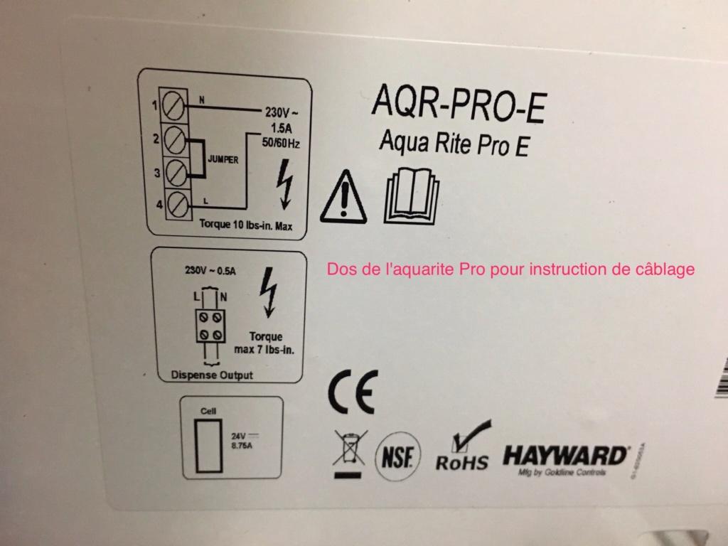 Branchement Filtration PAC et AQUARITE PRO Img_2817