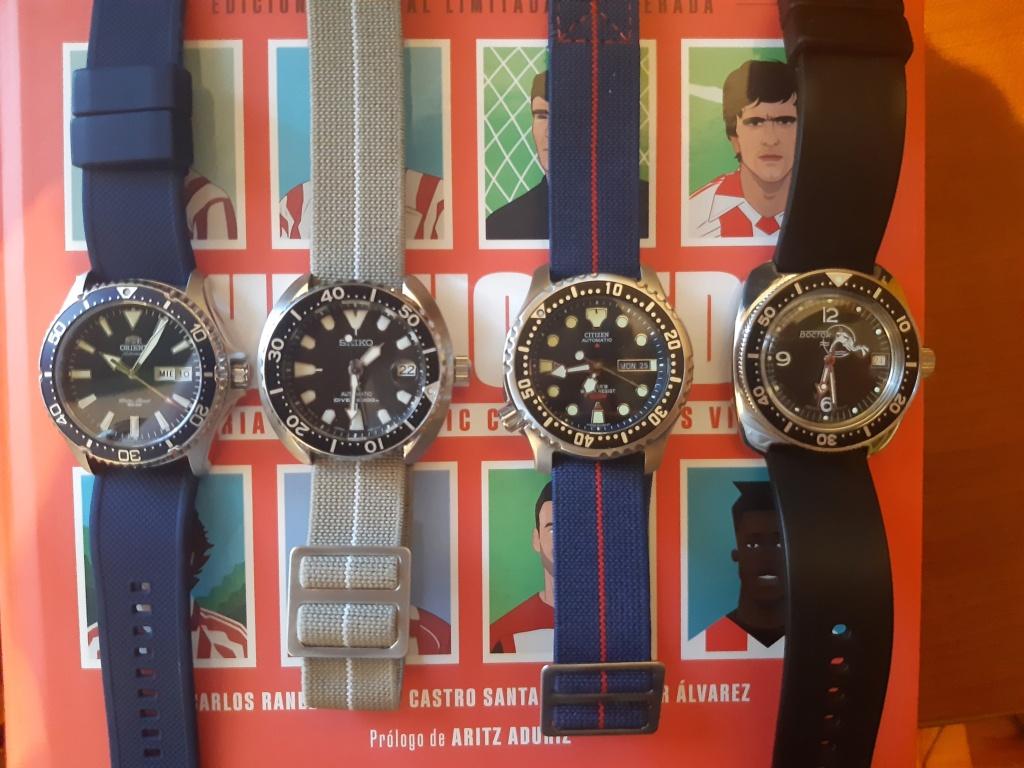 Colección 4 relojes por menos de 500€ 20210311