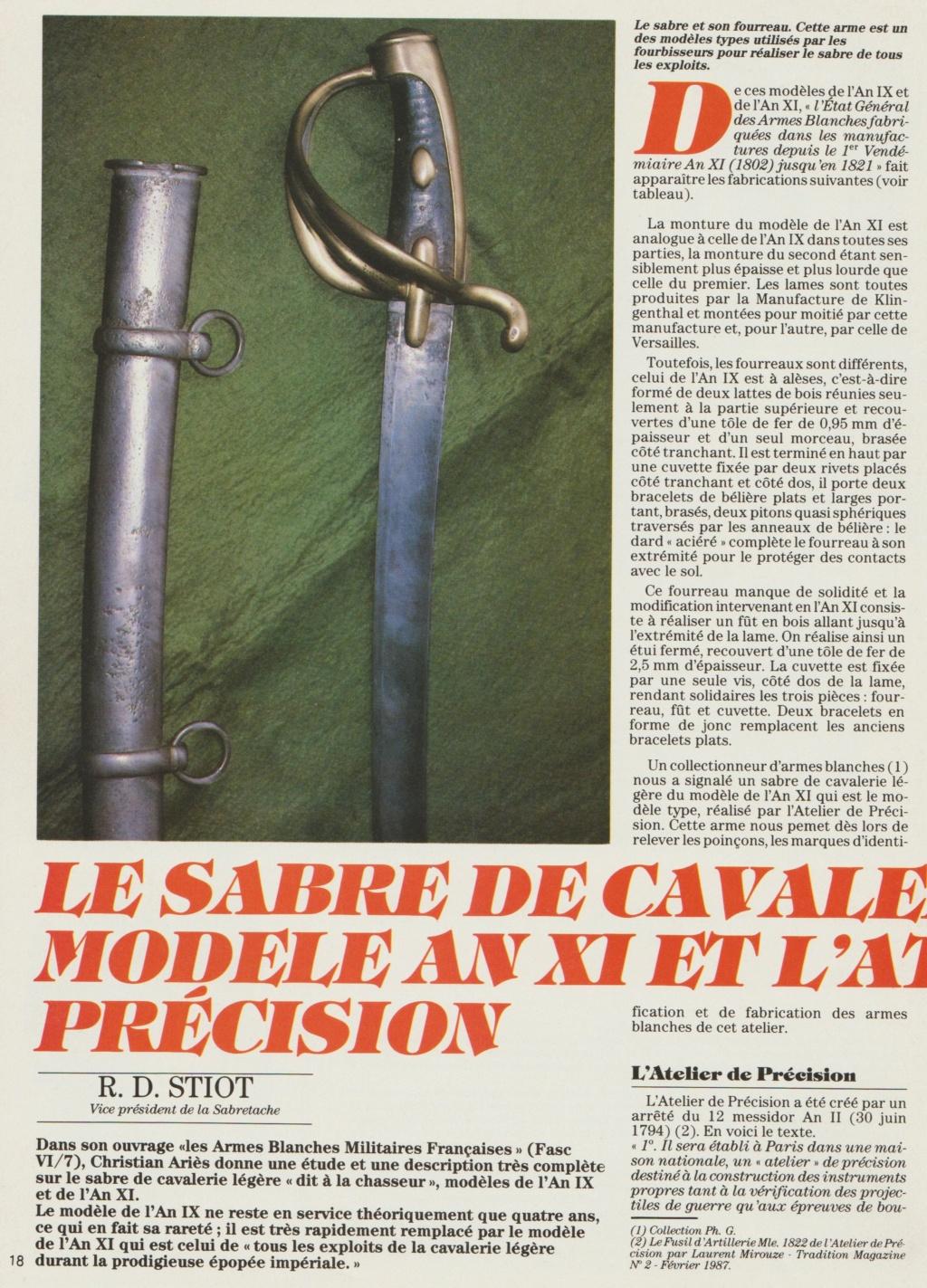 Sabre briquet des Ateliers de Paris - Page 2 Numzor18