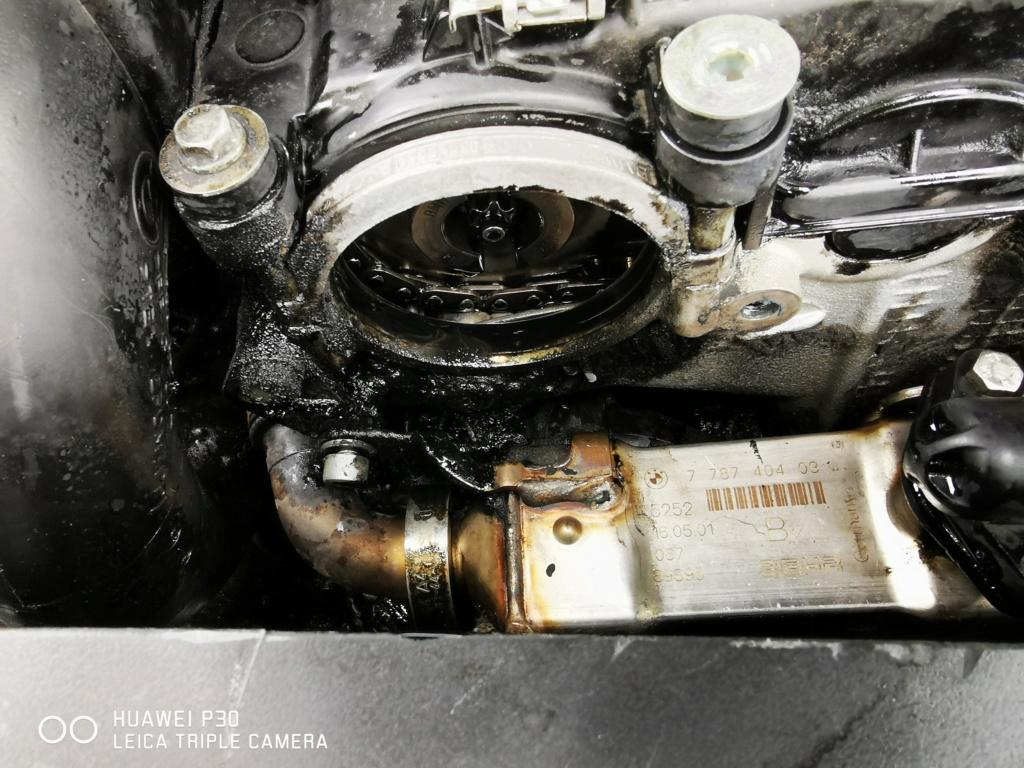 [résolu][ BMW E39 525d M57 an 2002 ] Perte d'huile importante soudainement (Résolu ) Img_2016