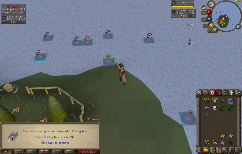 [13 pets] Stinger's post-max grind [Currently:Agility (20m+ exp)] Fishin10