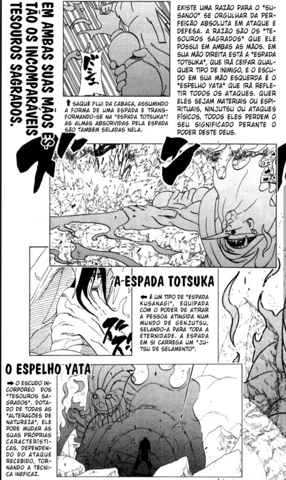 Kusanagi,Espelho yata e totsuka foram criados pelos ootsutsuki? Smarts10