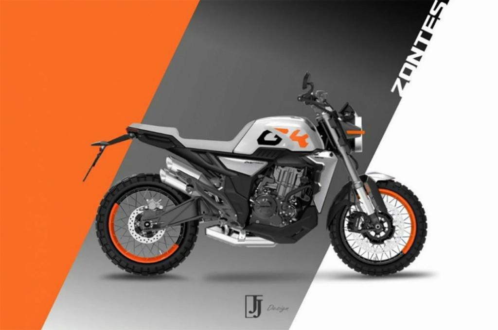 Zontes New Releasead Βikes Retro Bike 350GK 2021 Zontes12
