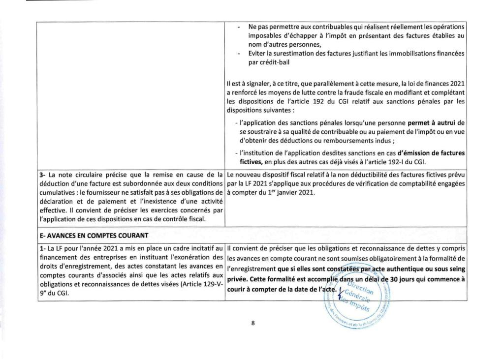 Réponses aux questions soulevées par les membres de la CGEM et la commission fiscalité et douane Rzopon18