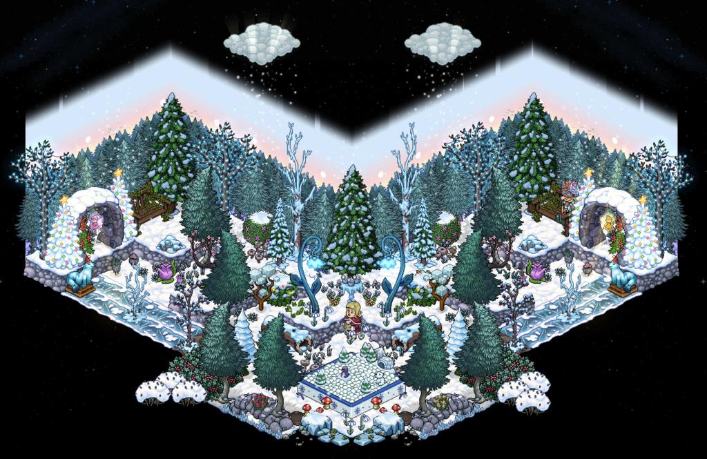 Affare stanza Foresta Magica in catalogo su Habbo Scherm24