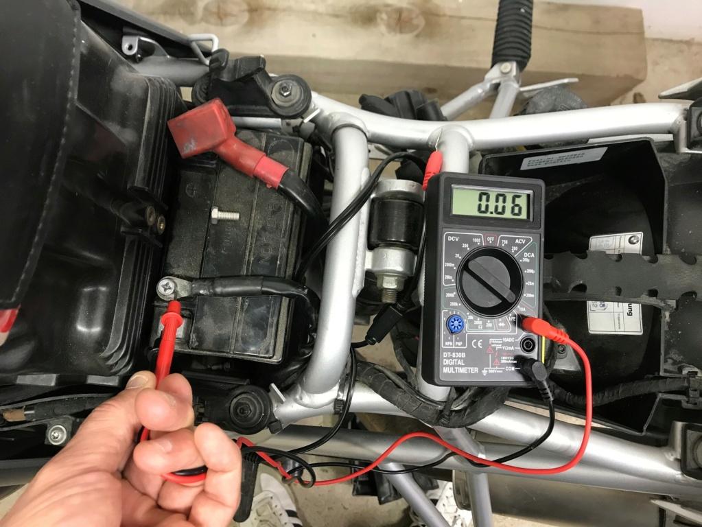 Problème de décharge de batterie Test110