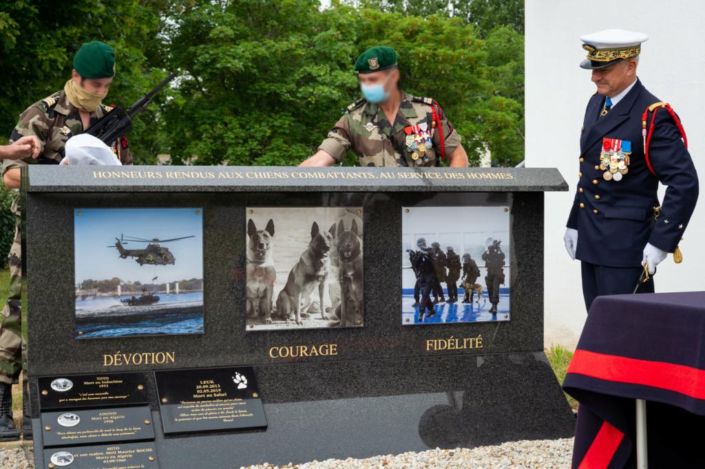 Stèle pour les chiens de la Marine Nationale 211