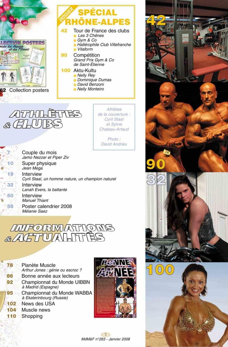 fitness - Le Monde du Muscle et du Fitness ( revue française ) Copie_10