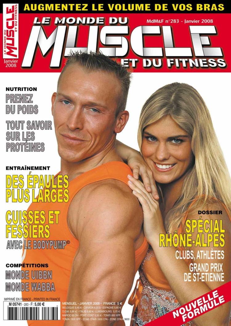 fitness - Le Monde du Muscle et du Fitness ( revue française ) Couv-210
