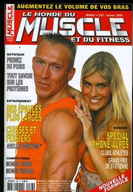 fitness - Le Monde du Muscle et du Fitness ( revue française ) M574110