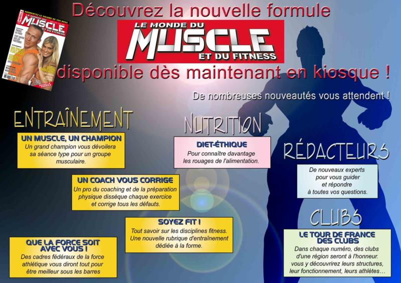 fitness - Le Monde du Muscle et du Fitness ( revue française ) Publiw10