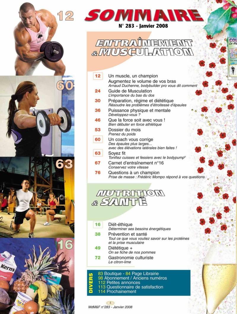 fitness - Le Monde du Muscle et du Fitness ( revue française ) Som-2810