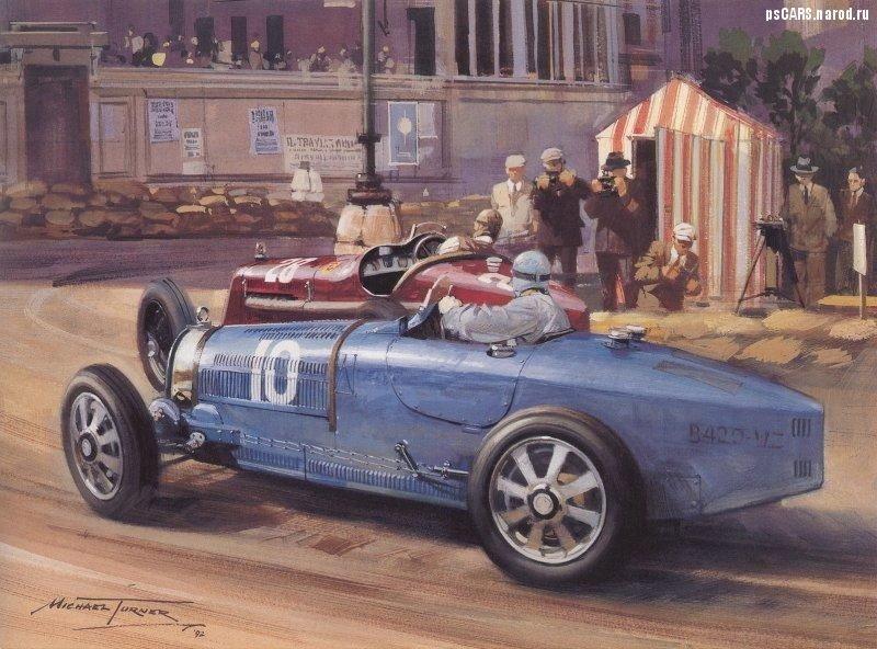 le sport auto  et l'art - Page 5 Bugatt10
