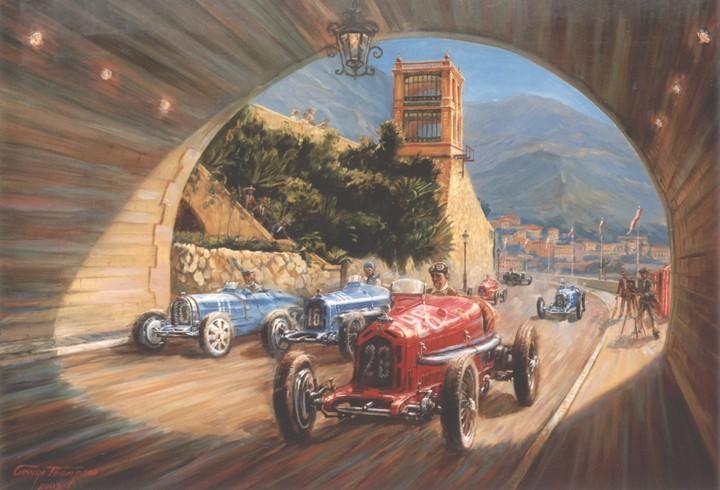 le sport auto  et l'art - Page 5 Monaco11