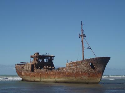 La plage de Boujdour Pb220112