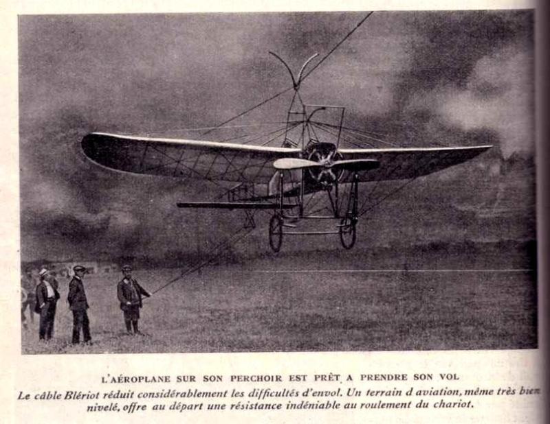 Le Blériot qui décollait et atterrissait d'un câble Cable_10